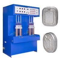 Stainless Steel Pan 80KW Weld Preheating Induction Welding Machine 30-80KHZ