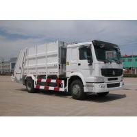 Buy cheap SINOTRUK HOWO 12m³ Compression garbage truck from wholesalers