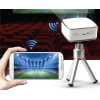 Buy cheap Pico projector,small and smart,with speaker and battery.supply wifi directly connecting with smart devices from wholesalers