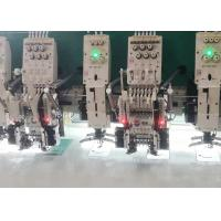 Buy cheap Automatic Commercial Multi Head Embroidery Machine Simple Design from wholesalers