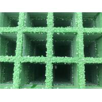 Buy cheap Fiberglass Reinforced Plastic FRP/GRP Molded Grating with Gritted Surface, plank road from wholesalers