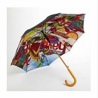 Buy cheap Double layer auto open straight umbrella,wooden umbrella from wholesalers