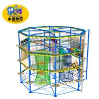 Buy cheap Challenge course training team building activities with rope climbing obstacle course from wholesalers