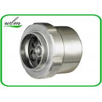 Buy cheap Food Grade Sanitary Butt Weld Check Valve Scientific Connection Design For Industrial product