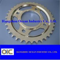 Buy cheap Motorcycle Sprockets , type Middle East A100 CG125-CDI YB100 from wholesalers