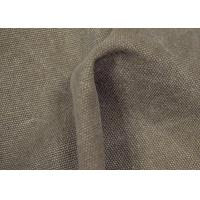 Buy cheap Anti - Cracking Washed Canvas Fabric 32 X 22 Density For Sports Shoes from wholesalers