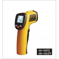 Buy cheap Temperature range -50 ~ 550℃ Non Contact Laser Infrared Thermometer, Digital and portable from wholesalers