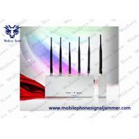 Handheld Cell Phone Jammer Kit 3G GSM CDMA 5 Antenna 33W Energy Consumption