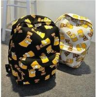 Buy cheap fashinal color print  polyester school bag-student backpack-ecnomic luggage from wholesalers