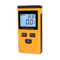 China Induction type handheld digital damp moisture meter professional moisture meter best pinless moisture meter on sale