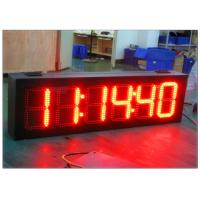 Buy cheap High Brightness 7 Segment Gas Station LED Signs , LED Time And Temperature Sign from wholesalers