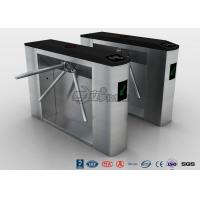 Buy cheap RFID Card Reader Tripod Turnstile Gate , Entrance Turnstile Access Control product