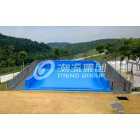 Buy cheap Attractive Surfing Flowrider Water Ride Extreme Sport Fun 21.7m * 13.4m For Water Park product