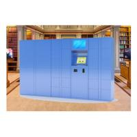 Buy cheap Winnsen Steel Smart Barcode Train Station Lockers , Automated Parcel Lockers from wholesalers