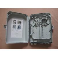 Buy cheap SC LC Fiber Optic Distribution Box , fiber distribution cabinet ABS Plastic Housing from wholesalers
