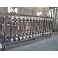 Buy cheap Ion Exchange Water Treatment Machine , Industrial Water Filtration Equipment from wholesalers