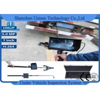 Buy cheap Portable 1080P HD mini Under Vehicle Inspection Camera with IP68 / DVR system from wholesalers