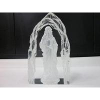 Buy cheap Handmade Crystal Sculpture Craft for Holy Father Iceberg from wholesalers