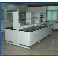 Buy cheap Chemical Resistant Modular Laboratory Furniture , Lab Bench Table 19mm Epoxy Resin from wholesalers