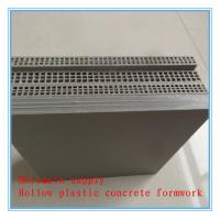Buy cheap Mortmain vendor of hollow plastic concrete formwork,foundation building slabs from wholesalers