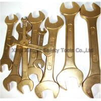 Buy cheap 9 10 11 13 pcs Double Open End Wrench Spanner Sets,Non sparking Copper Alloy Hand Tools. from wholesalers