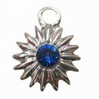 Buy cheap Hot Fix Rhinestone, Made of Metal, Decorated with Handmade Diamond product