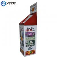 Buy cheap Portable Cardboard Floor Display Stands 54 * 40 * 168 cm For Calendars / Books from wholesalers