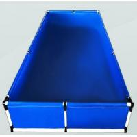 Buy cheap Above Ground Small Plastic Fish Pond , Water Storage Tanks Laminated Tarpaulin from wholesalers