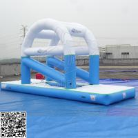 Buy cheap Outdoor Commercial Inflatable Water Parks For Adults Custom Size PVC Tarpaulin from wholesalers