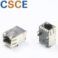 Buy cheap Tap Up RJ45 Connector With Integrated Magnetics Operating Temperature -40℃ To +85℃ from wholesalers