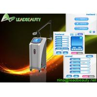 Buy cheap Wind cooling fractional CO2 laser 3 in 1 machine 0.1mm Spot size 10600nm RF from wholesalers