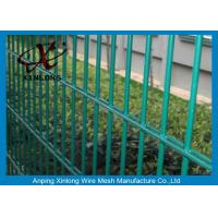 Buy cheap Double Green Pvc Coated Wire Mesh Fencing For Country Border XLS-05 from wholesalers