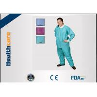 Buy cheap Comfortable Medical Disposable Clothing Non Toxic For Patients / Doctors Antibacterial from wholesalers