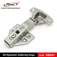 Buy cheap Hydraulic Buffering Stainless Steel Cupboard Hinges from wholesalers