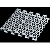 Buy cheap Anodic Oxidation Hexagonal Perforated Metal Proper Light Penetration from wholesalers