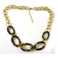 Buy cheap Spring Design Gold Chain Fashion Necklace from wholesalers