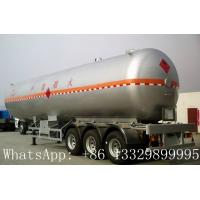 Buy cheap China famous leading bulk propane gas tank semitrailer for sale, hot sale best price lpg gas tank semitrailer for sale from wholesalers