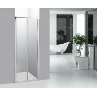 Buy cheap Straight Bathroom Shower Enclosures Double Pivot Shower Doors from wholesalers