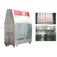 Buy cheap Simulated Climate UV Aging Test Chamber Electric Driven Humidity Range 10% - 95% from wholesalers