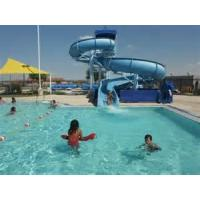 Buy cheap Swimming Pool Water Slides , Water Park Equipment / Kids Fiberglass Water Pool Slides from wholesalers