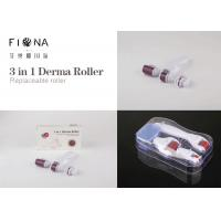 Buy cheap CE Approval titanium derma rolling Manufacturer skin roller system 3 IN 1 derma roller from wholesalers