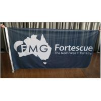 Buy cheap Rectangle Fabric Flag Banners Outdoors Marketing Flags For Advertising from wholesalers