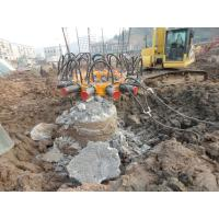 Buy cheap Steel Casing Module Hydraulic Pile Breaker With 180mm Crowd Stroke 30mpa Max Crowd Pressure from wholesalers
