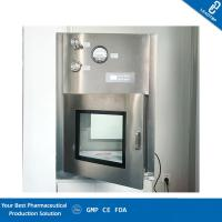 Buy cheap GMP Cleanroom Static Dynamic Pass Box / Pharmaceutical Pass Box Low Noise from wholesalers