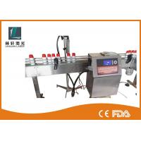 Buy cheap High Definition Double Heads Industrial Inkjet Coding Machine For Uneven Surface from wholesalers
