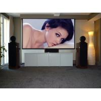 Buy cheap Collapsible Motorized Projection Screens For Projector / big outdoor portable movie screen 180 from wholesalers