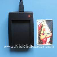 Buy cheap Portable PicoPass USB RFID Reader Writer , Desktop Contactless Smart Card Reader from wholesalers