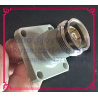 Buy cheap 4.3-10 female connector solder type with flange square for antenna base All brass 50ohm high quality silver plated pin from wholesalers