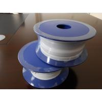 Buy cheap White Backing Adhesive PTFE Expand Tape , Teflon Expand Tape Food Grade from wholesalers