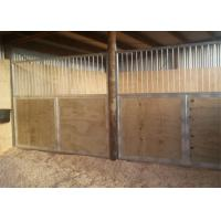 Buy cheap Custom Luxury Horse Stall Fronts For Pole Barns Solid / Grilled Divider from wholesalers